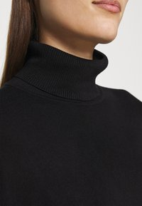 Zign - SOFT TURTLE NECK - Jumper - black - 6