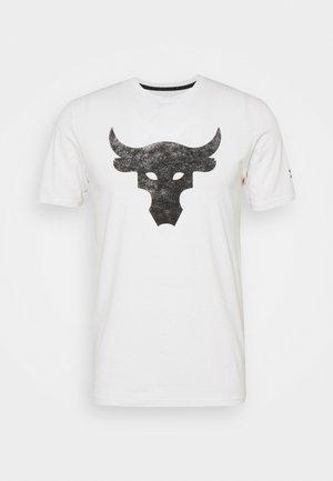 ROCK BRAHMA BULL - T-shirts print - onyx white