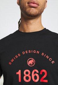 Mammut - SEILE - T-shirts med print - black - 4