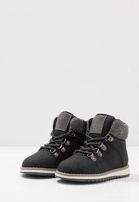 Friboo - Šněrovací kotníkové boty - black - 3