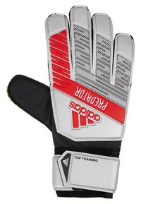 adidas Performance - PRED - Goalkeeping gloves - silver metallic/black - 3
