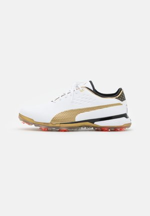 X PALM TREE CREW PROADAPT - Golf shoes - gold/white