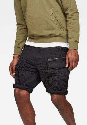 ROVIC ZIP RELAXED  - Shorts - black
