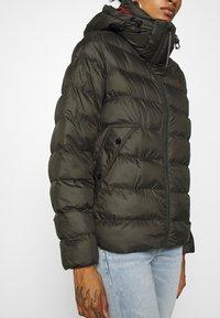 G-Star - WHISTLER PUFFER - Winter jacket - asfalt - 4