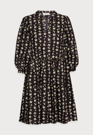 CLARABEL 3/4 DRESS - Vapaa-ajan mekko - black flower