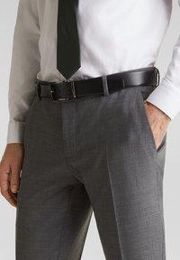 Esprit Collection - ACTIVE - Suit trousers - dark grey - 3