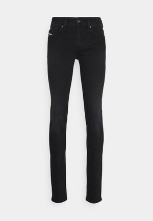 SLEENKER-X - Jeans slim fit - black denim