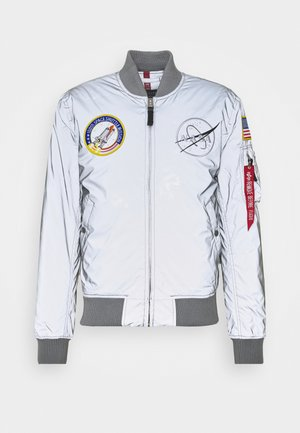 NASA REFLECTIVE - Bomber Jacket - silver