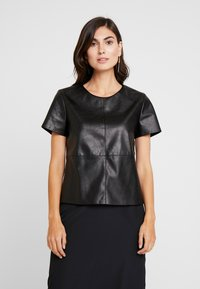 Opus - FASINELA - Blouse - black - 0