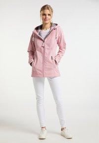 Schmuddelwedda - Soft shell jacket - pfirsichrosa - 1