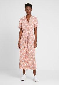 PIECES Tall - PCLIANNA LONG  DRESS - Maxi dress - light pink - 0