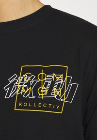 Common Kollectiv - JAPAN TEE UNISEX - Print T-shirt - black - 5