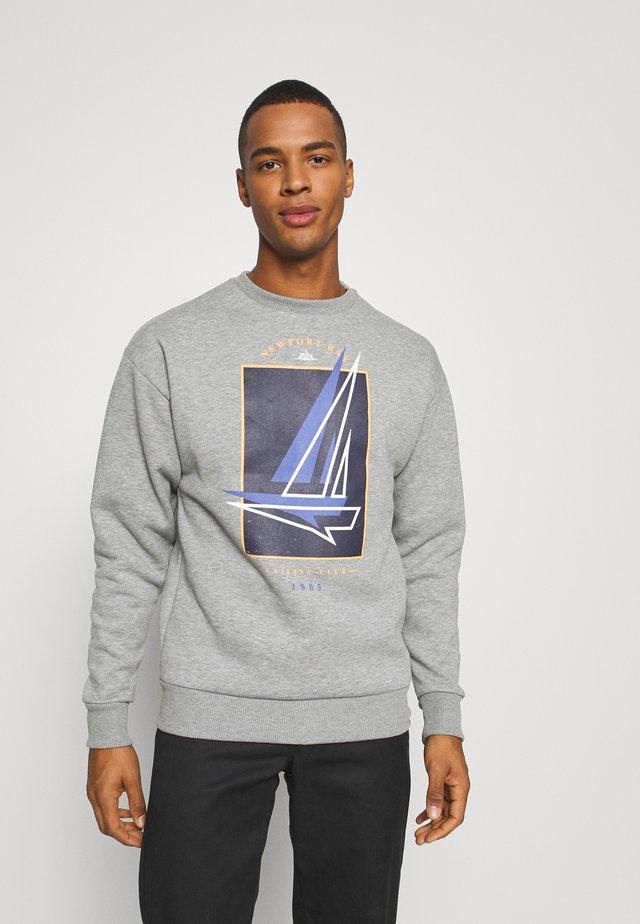 BOAT CREW - Sweater - grey marl