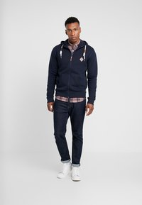 INDICODE JEANS - QUINBY - Sweatjacke - navy - 1