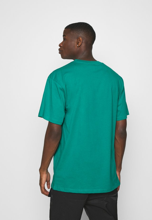 SMALL SIGNATURE TEE UNISEX - T-shirt con stampa - turquoise