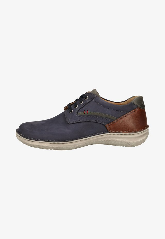 Sportieve veterschoenen - dark blue