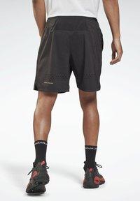 Reebok - LES MILLS ATHLETE - Pantalón corto de deporte - black - 2