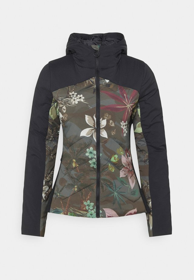 PADDED JACKERT CAMO - Light jacket - green