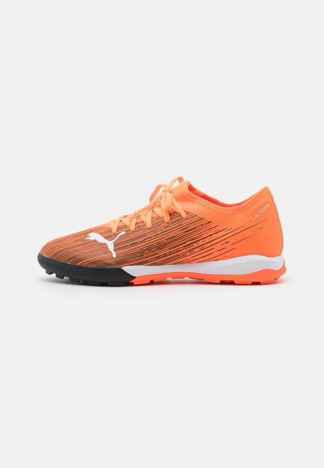ULTRA 3.1 TT - Botas de fútbol multitacos - shocking orange/black