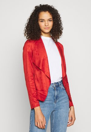 ONLFLEUR JACKET  - Summer jacket - red ochre