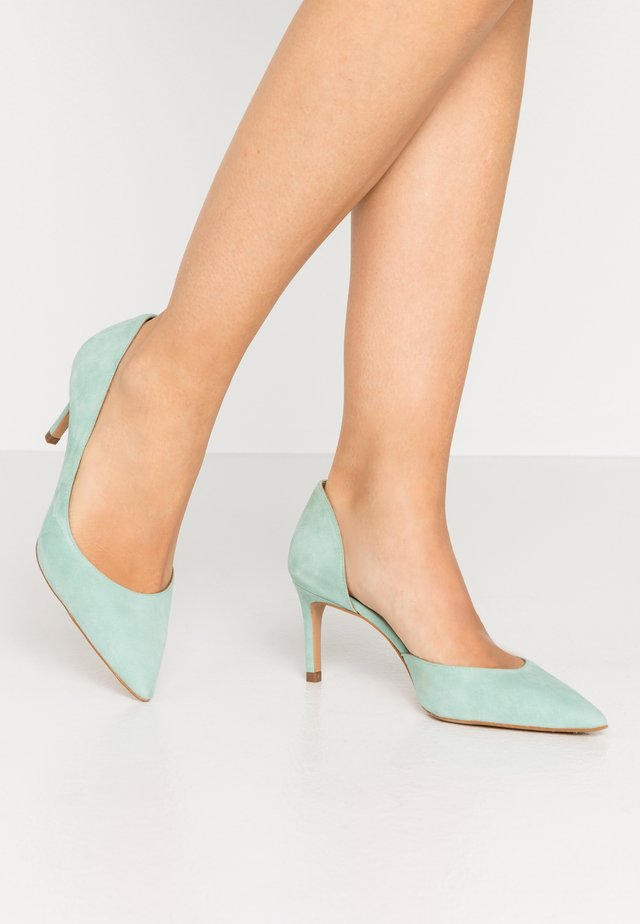 Klassiske pumps - amalfi mint