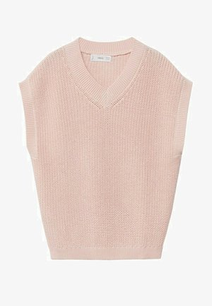 Veste sans manches - rose clair