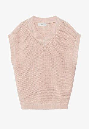 Waistcoat - rose clair