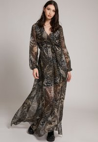 Guess - Maxi dress - mehrfarbig braun - 0