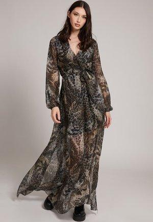 Maxi dress - mehrfarbig braun
