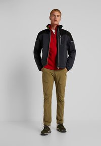 CMP - MAN JACKET - Soft shell jacket - asphalt melange - 1