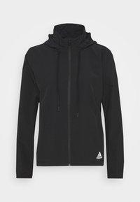 adidas Performance - Training jacket - black/white - 5