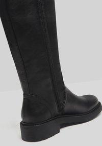 Bershka - Vysoká obuv - black - 4