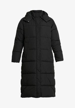 ELA SLIT - Zimní kabát - black