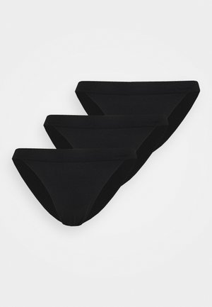 BRASILIANO 3 PACK - Briefs - black
