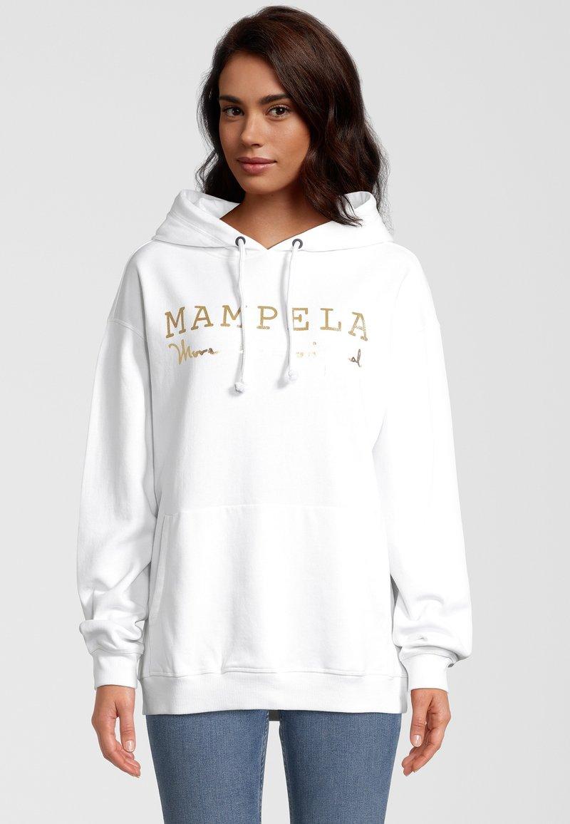 Mampela M´Ela Clothing - Hoodie - white