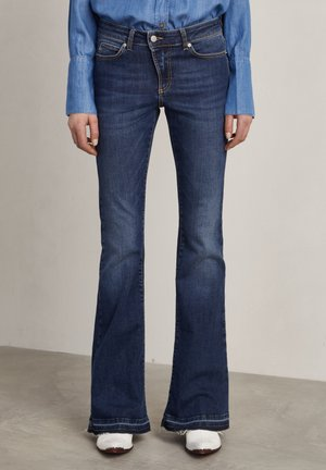 Flared Jeans - mid blue