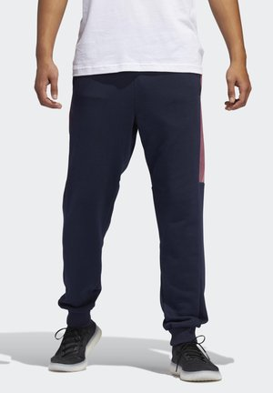MUST HAVES GRAPHIC JOGGERS - Tracksuit bottoms - blue