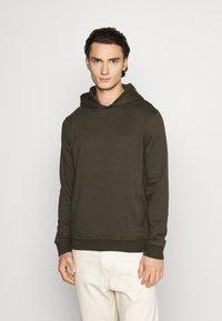 Burton Menswear London - HOOD 2 PACK - Hoodie - bordeaux - 4