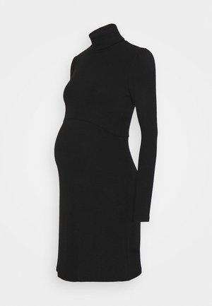 LADIES  - Jerseykjole - black