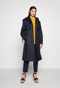 Coach - HOODED - Trenchcoat - raven blue - 1