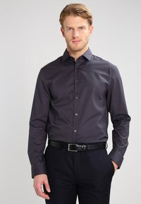 Pier One - Camisa elegante - dark grey - 0