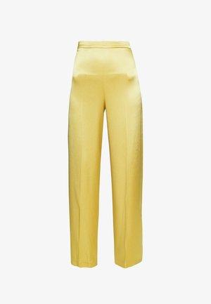 CALZONE PANTALONE - Pantalon classique - giallo