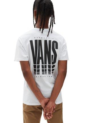 MN VANS REFLECT SS - T-shirt print - white