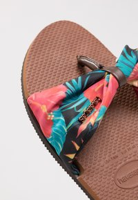 Havaianas - YOU TROPEZ - Pool shoes - brown  multicolored - 6