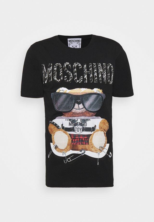 T-shirt print - fantasy black