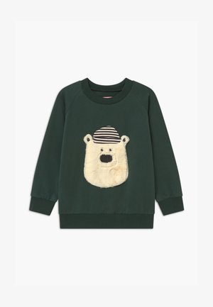 HELLO TEDDY UNISEX - Sweatshirt - green