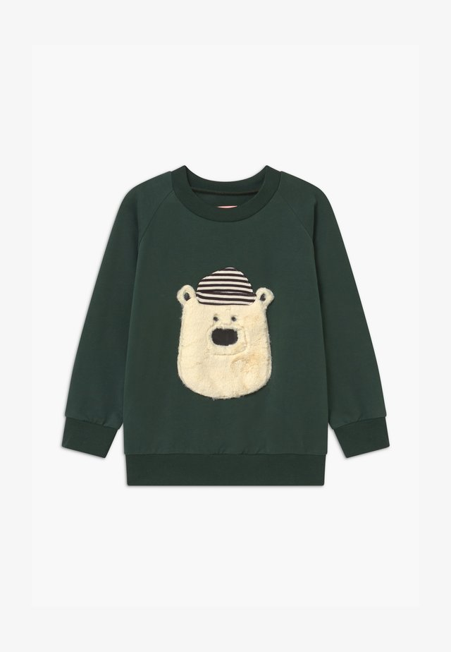 HELLO TEDDY UNISEX - Sudadera - green