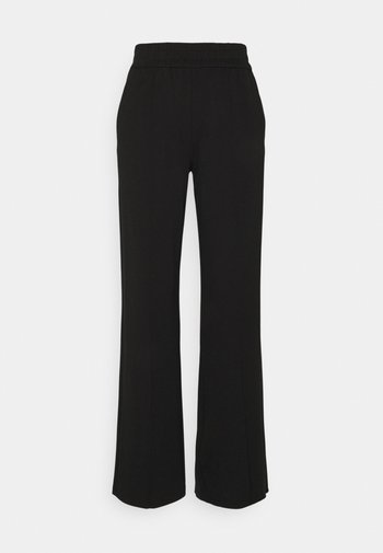 ONLPOPTRASH SUKI LIFE WIDE PANT - Trousers - black