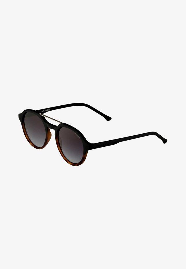 HARPER - Sunglasses - matte black/turtoise
