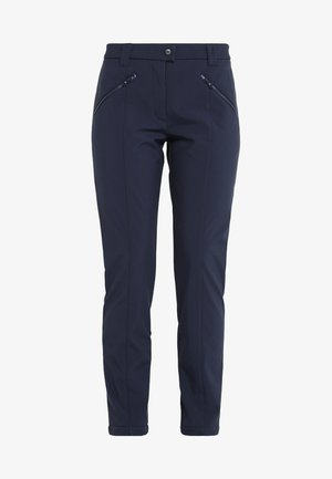 WOMAN LONG PANT - Długie spodnie trekkingowe - black blue